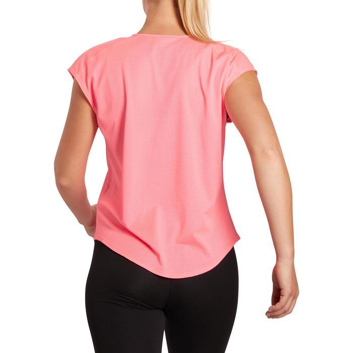 T-shirt loose fitness cardio femme avec imprimés 120 Domyos - 1195843