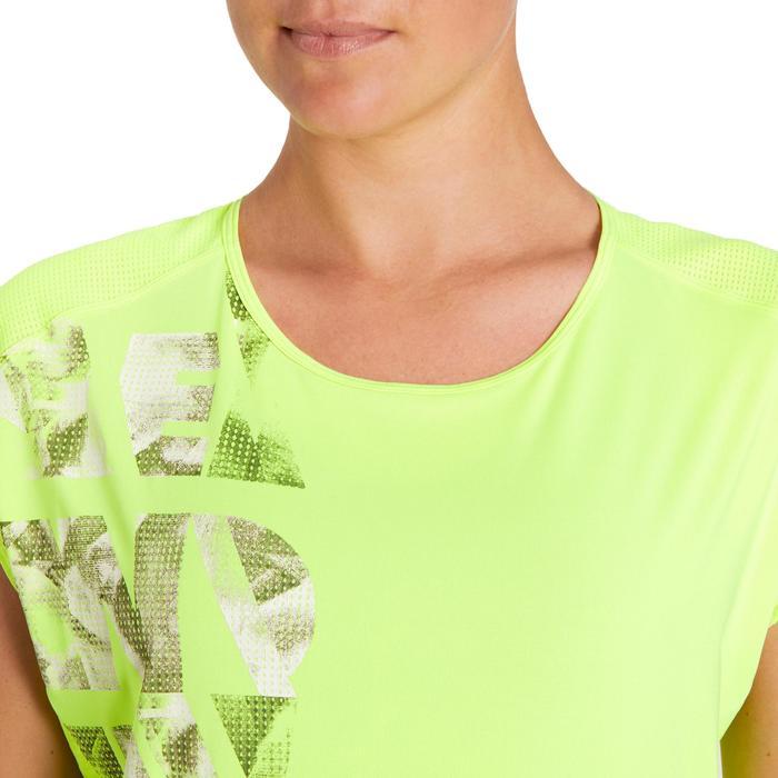 T-shirt loose fitness cardio femme avec imprimés 120 Domyos - 1195868