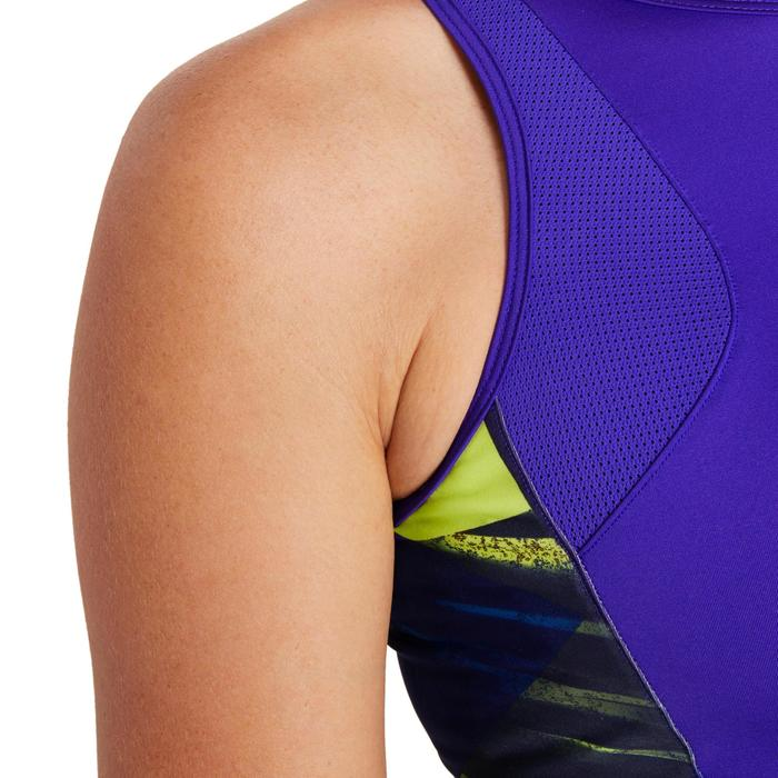Cropped top fitness cardio femme 500 Domyos - 1195888