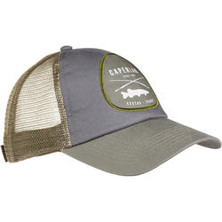 Fishing cap-1 GREY