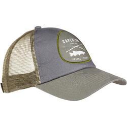 Fishing cap-1 GREY