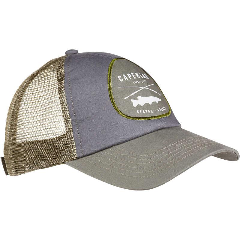 OCCHIALI E CAPPELLI Pesca - Cappellino pesca 500 grigio CAPERLAN - PESCA AI PREDATORI