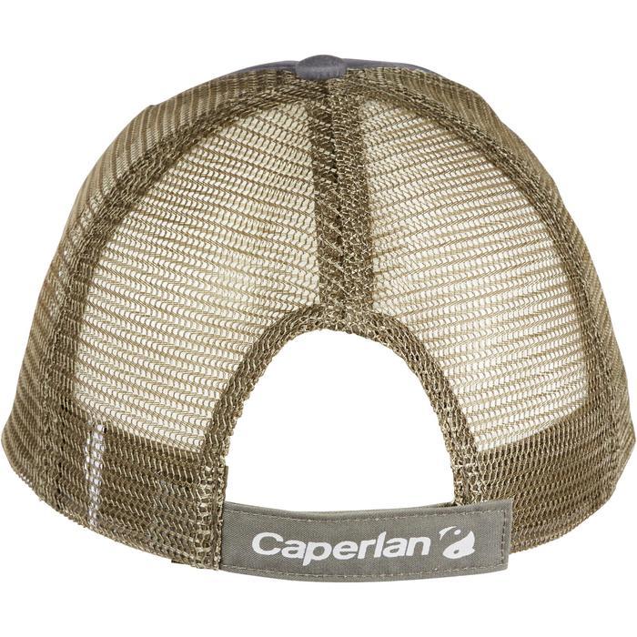 Casquette pêche CASQUETTE-1 GRIS