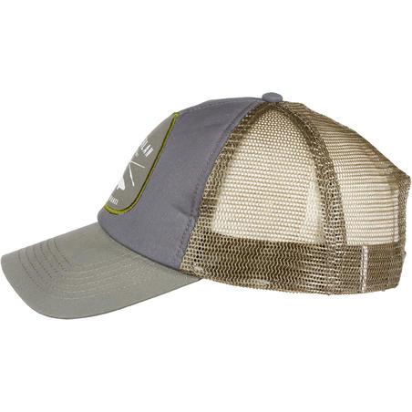 Fishing cap 500 Grey