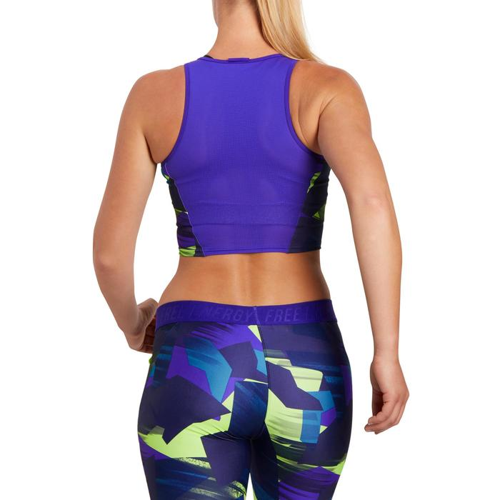 Cropped top fitness cardio femme 500 Domyos - 1196057