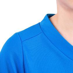 Camiseta de Rugby Kipsta 100 niños azul