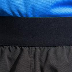 Rugbyshort voor heren R500 zwart rood