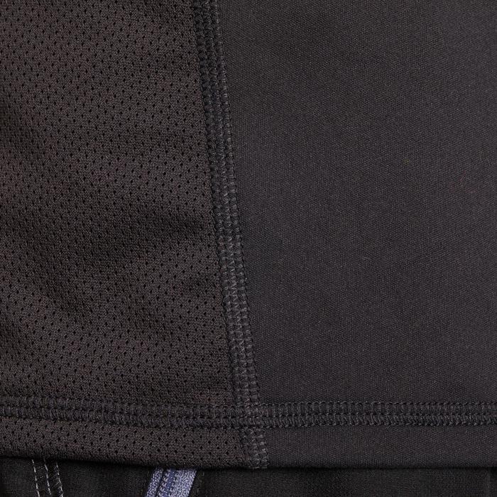 T-shirt fitness cardio homme noir imprimé FTS 120 - 1196228