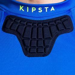 Rugby-Schulterschutz R500 Erwachsene blau