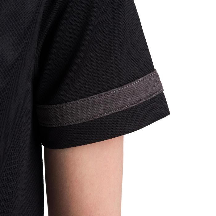 Full H 100 Junior Rugby Shirt - Black