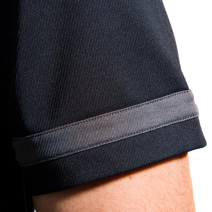 Maillot rugby adulte R100 noir