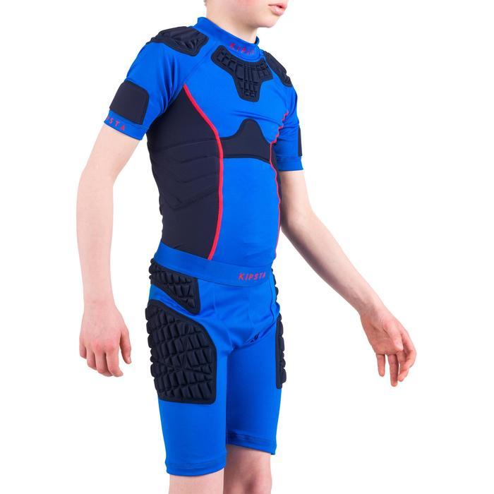 Sous short protection rugby enfant bleu - 1196464