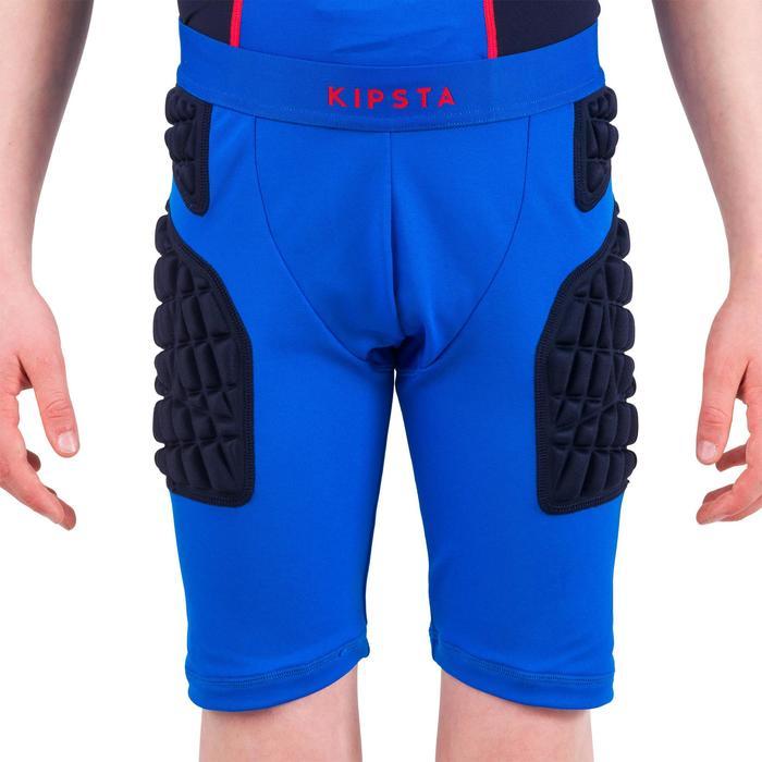 Sous short protection rugby enfant bleu - 1196514