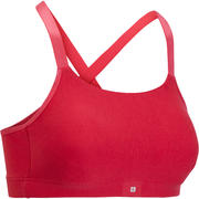 Comfort Pads Women's Fitness Sports Bra - Pink