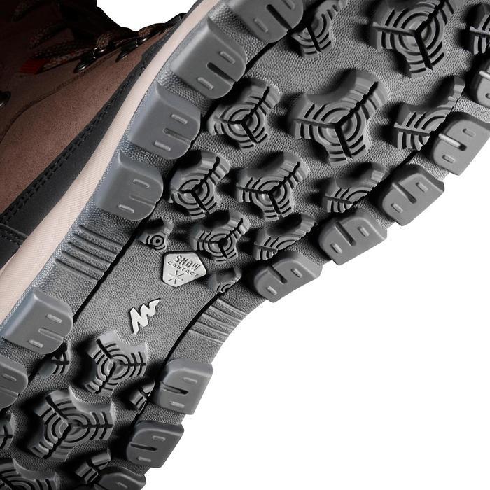 Chaussures de randonnée neige femme SH500 x-warm high marron