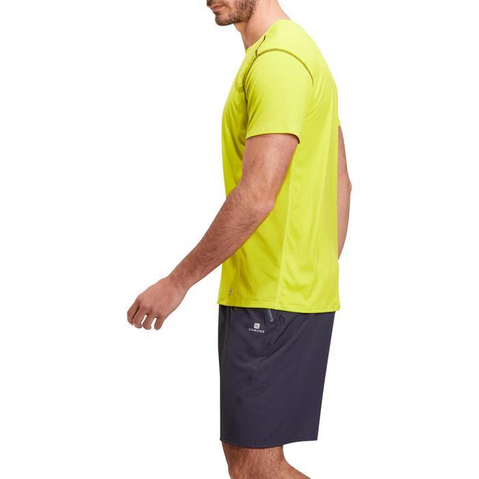 T-shirt fitness cardio homme noir imprimé FTS 120 - 1196711