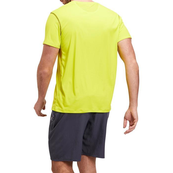 T-shirt fitness cardio homme noir imprimé FTS 120 - 1196722