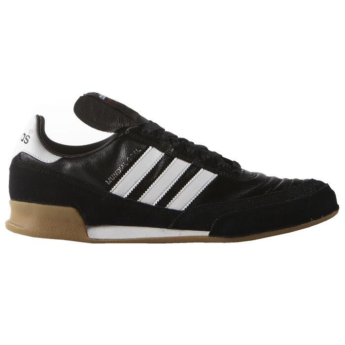 Zaalvoetbalschoenen voor volwassenen Mundial Goal zwart Adidas