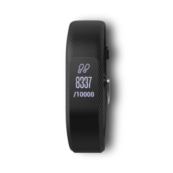 Bracelet d'activité Vivosmart 3 cardio au poignet noir (S/M) - 1196951