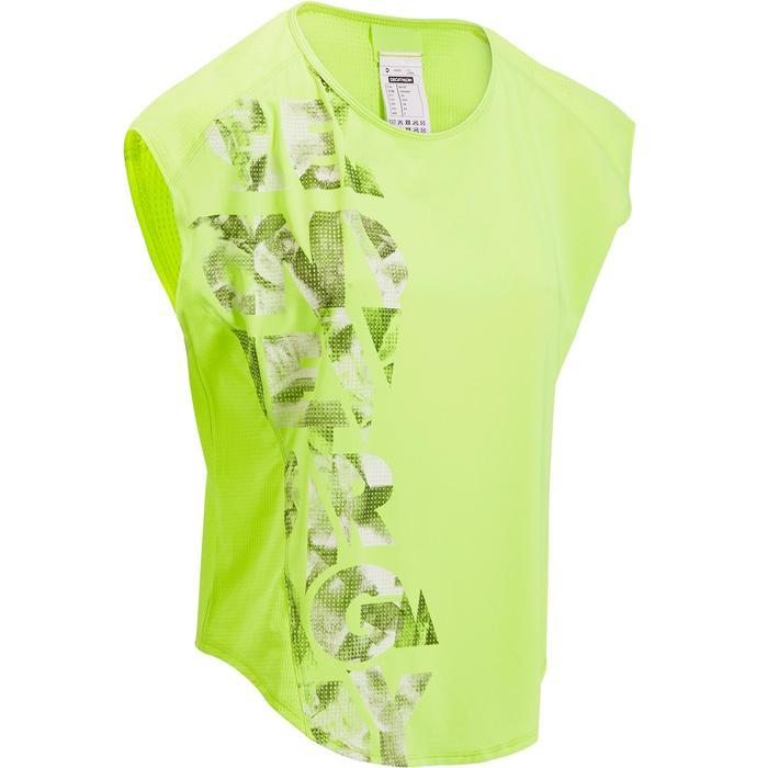 T-shirt loose fitness cardio femme avec imprimés 120 Domyos - 1197059