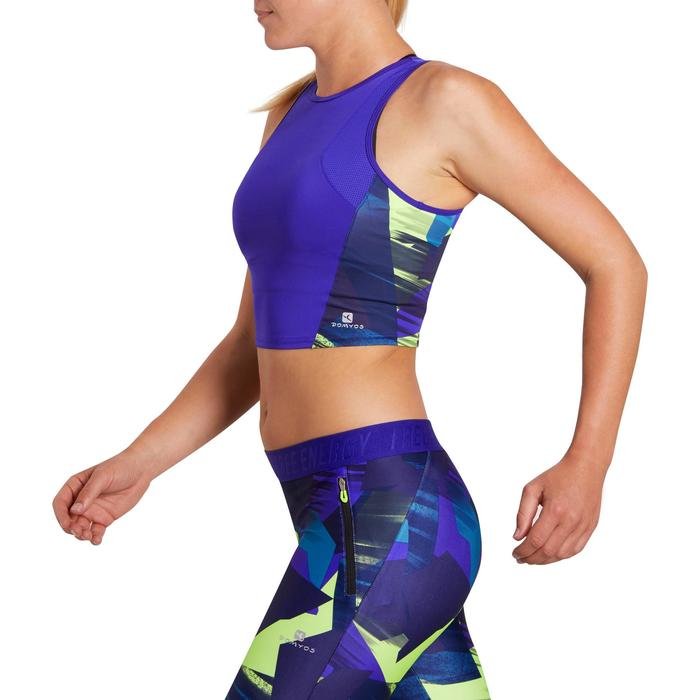 Cropped top fitness cardio femme 500 Domyos - 1197070