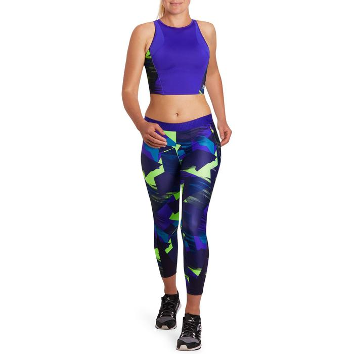 Cropped top fitness cardio femme 500 Domyos - 1197071
