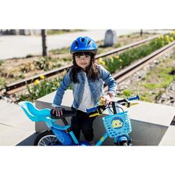 Puppen-Fahrradsitz Kinder blau