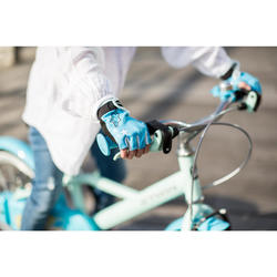 GANT MITAINE VELO ENFANT BLUE PRINCESS