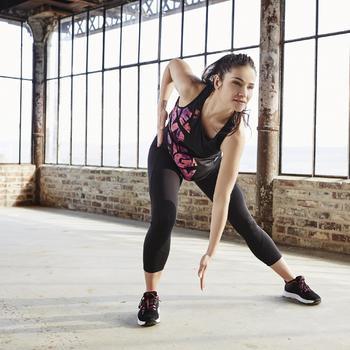 Legging 7/8 fitness cardio-training femme 100 - 1197106