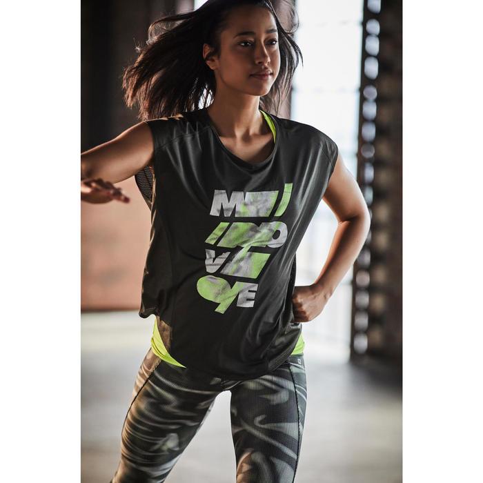 7/8 fitness cardio femme noir 100 Domyos - 1197112