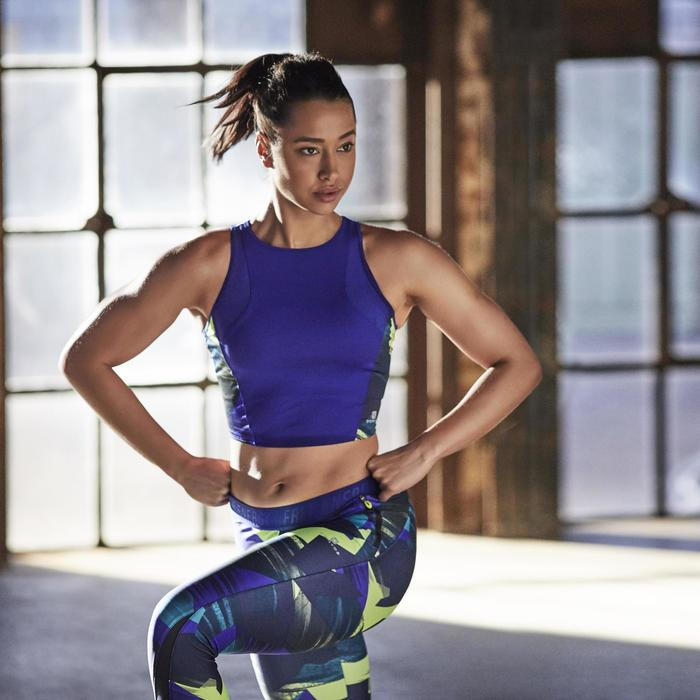 7/8 fitness cardio femme gris et Energy + - 1197123