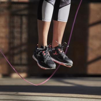 Chaussures fitness cardio 900 femme noir et - 1197144