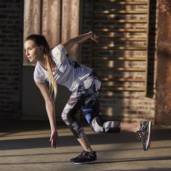 Chaussures fitness cardio 900 femme noir et - 1197159