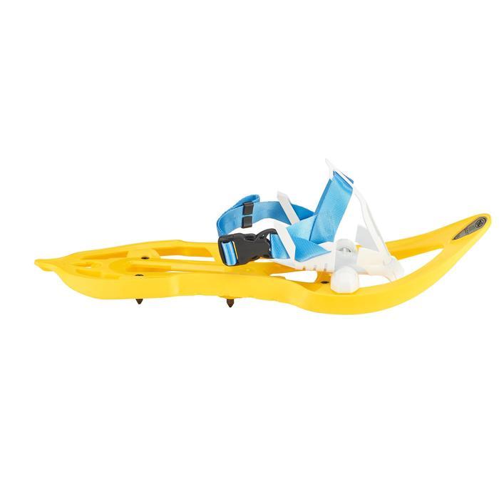 Raquettes à neige junior Duicky jaune - 1197244