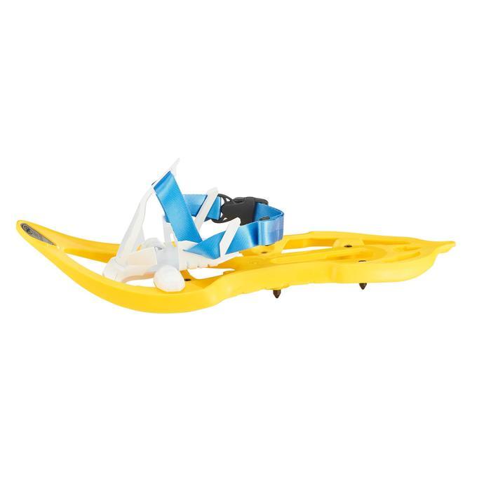 Raquettes à neige junior Duicky jaune - 1197270