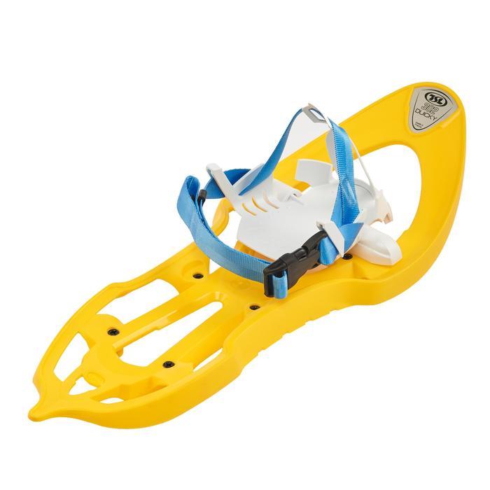 Raquettes à neige junior Duicky jaune - 1197276