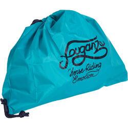 可摺式頭盔袋 - 藍綠色及深藍色