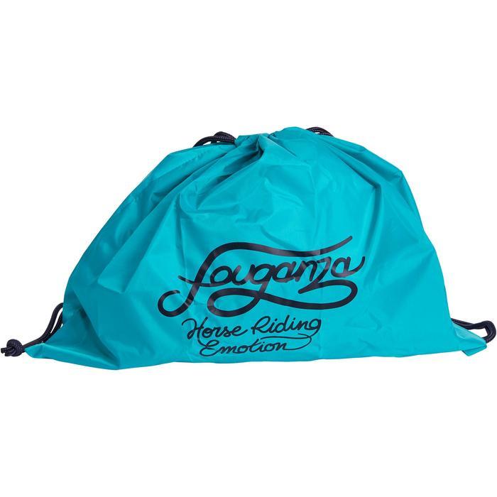 Sac à casque pliable turquoise et marine - 1197288
