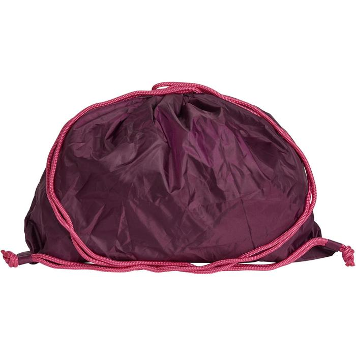Sac à casque pliable prune et violet
