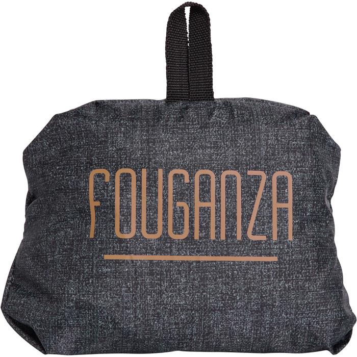 Folding Helmet Bag - Heathered Grey and Camel