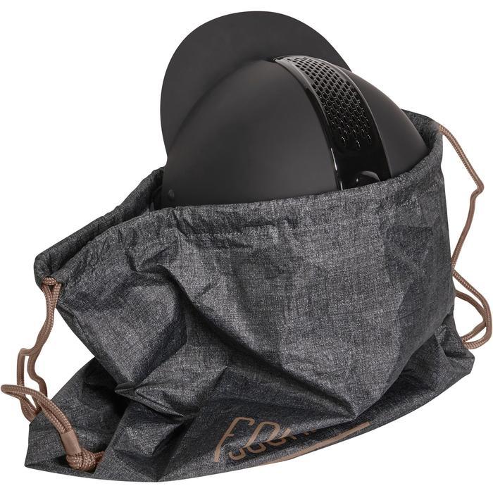 Sac à casque pliable turquoise et marine - 1197301