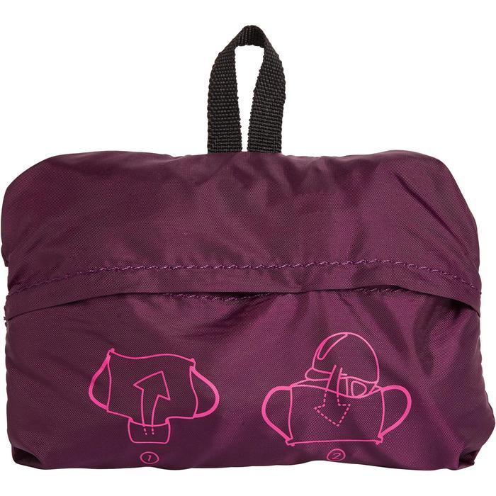 Bolsa para casco plegable ciruela violeta