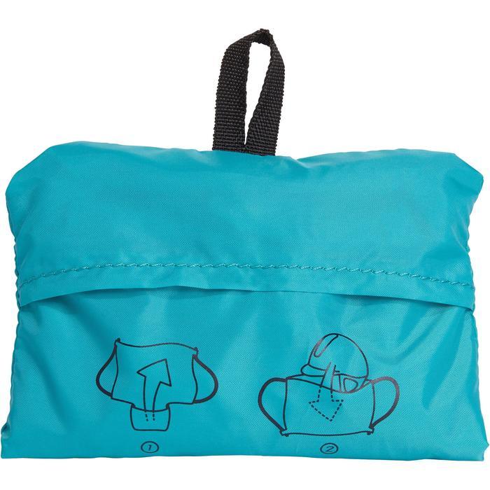 Bolsa para casco plegable turquesa/azul marino