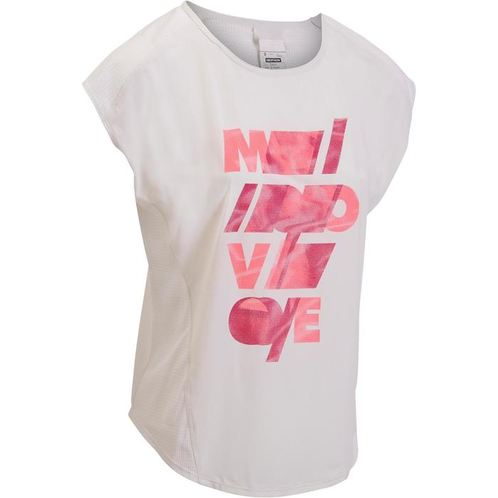 T-shirt loose fitness cardio femme avec imprimés 120 Domyos - 1197307