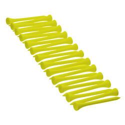 Houten tee 69 mm x25 geel