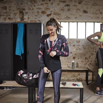 Sport-Bustier Cardio 500 Damen gelb