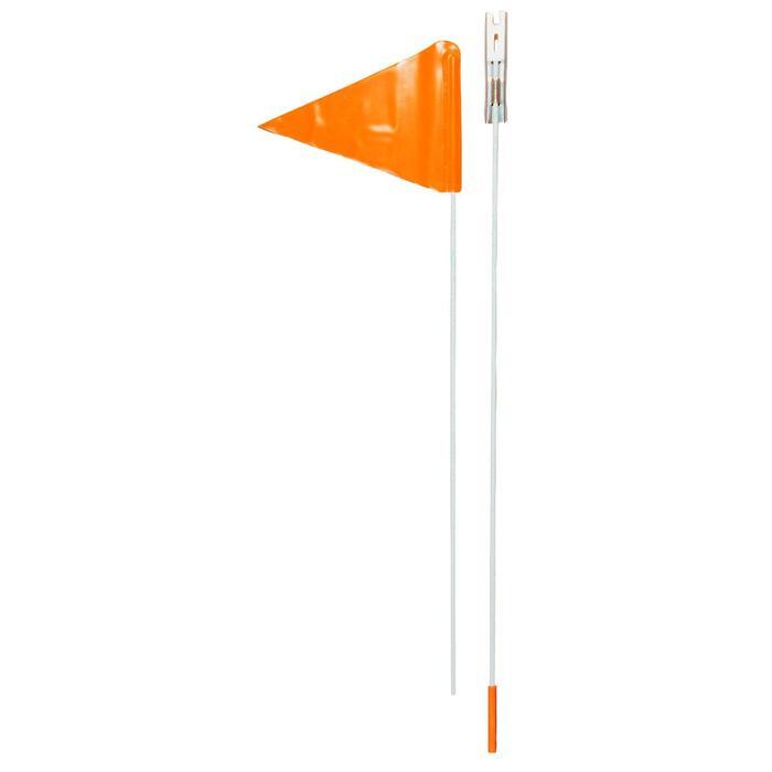 Sicherheitsfahne für Kinderrad orange