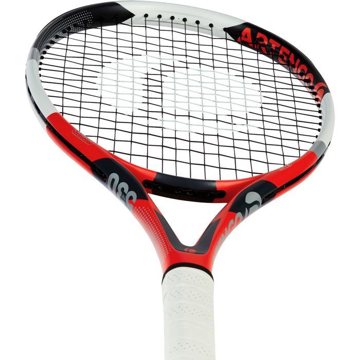 Set de raquette de tennis TR 530 lite Rouge avec sa housse pour les accessoires - 1197380