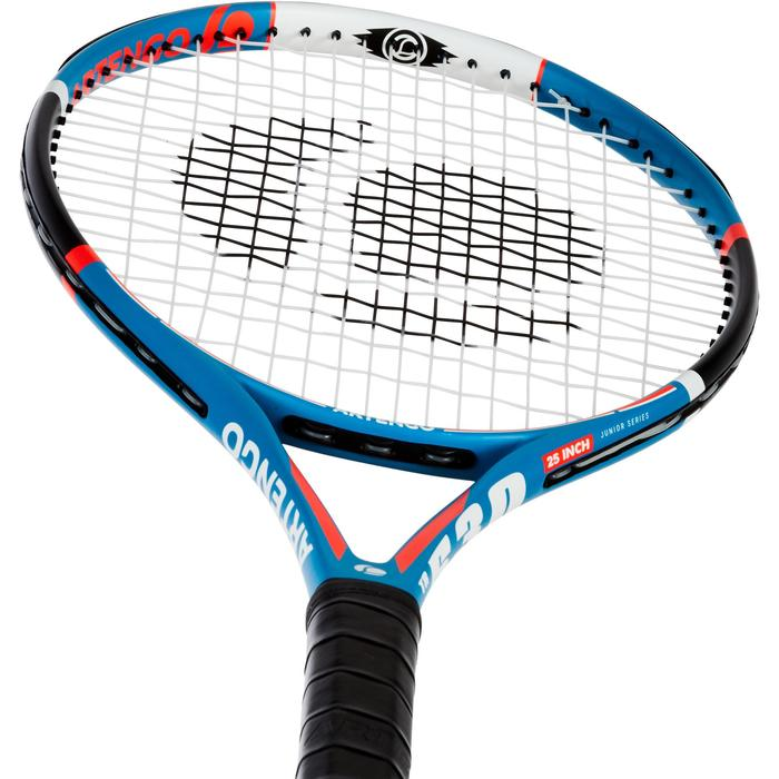 """Tennisschläger TR530 Kinder 25"""" besaitet blau"""