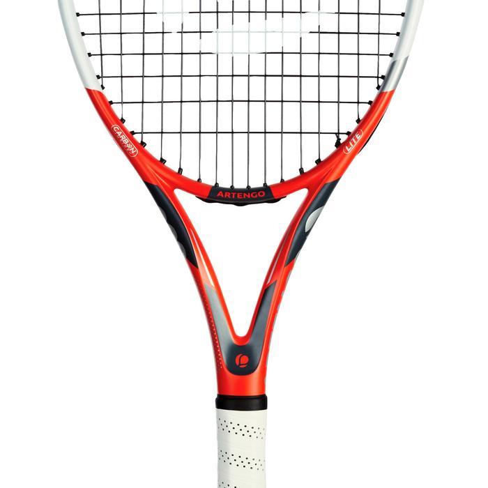Set van tennisrackets TR 530 Lite rood met draagtas voor accessoires